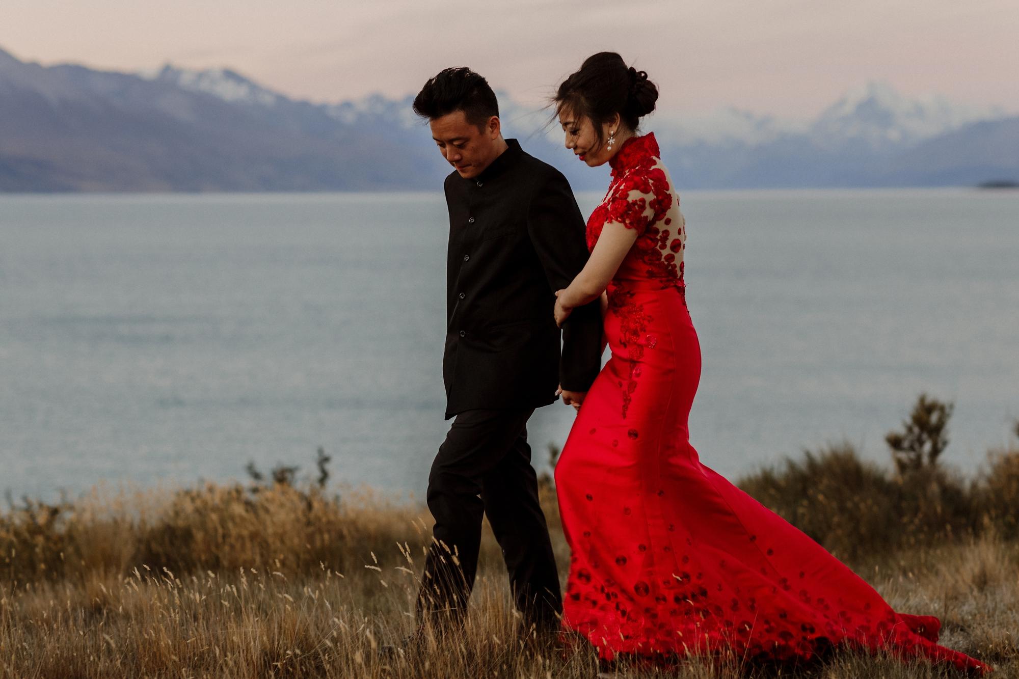 Engagement shoot couple NZ