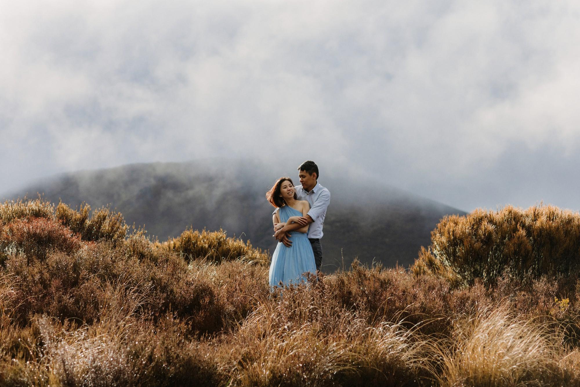 mountain-pre-wedding-shoot-nz