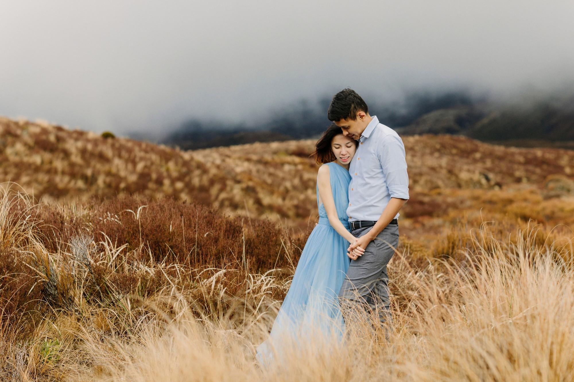 tongariro-pre-wedding-shoot