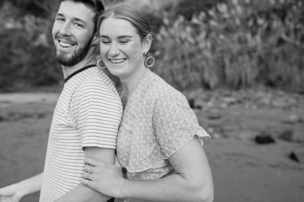 engagement shoot couples